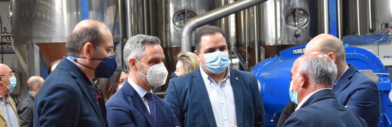 La cooperativa Virgen de la Villa de Martos recibe casi un millón de euros para mejorar la eficiencia energética de su proceso productivo