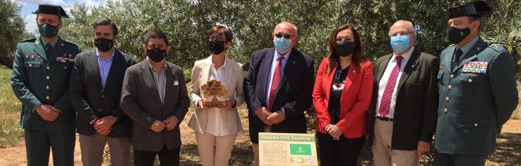 La Fundación Guardia Civil colabora con la Fundación Lumière apadrinando olivos solidarios en el proyecto «El Aceite de la Vida»