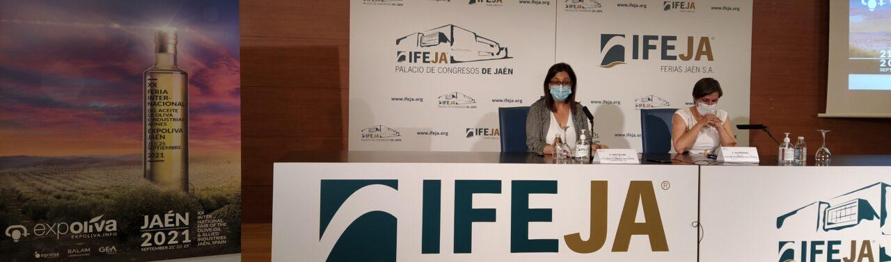 IFEJA y Fundación del Olivar firman un convenio de colaboración en el marco de Expoliva 2021