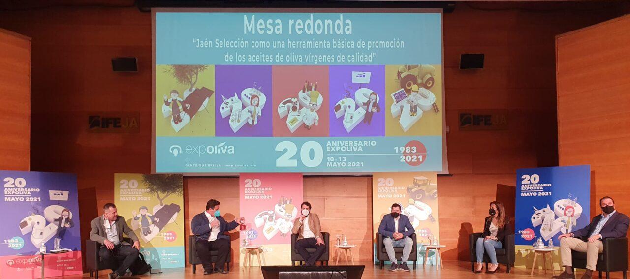 La salud, los Jaén Selección y la innovación en el mundo oleícola han centrado la jornada de hoy del 20 aniversario de Expoliva