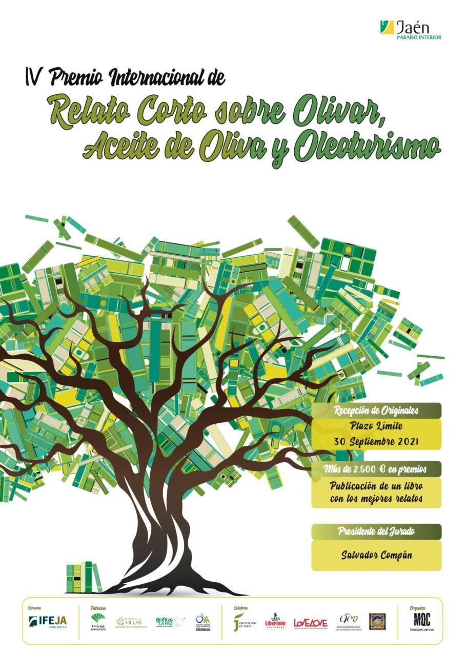 El Premio de Relato Corto sobre Olivar que organiza Másquecuentos recibe el XII Premio Agustí Serés por su labor en la difusión de la Cultura del Aceite de Oliva