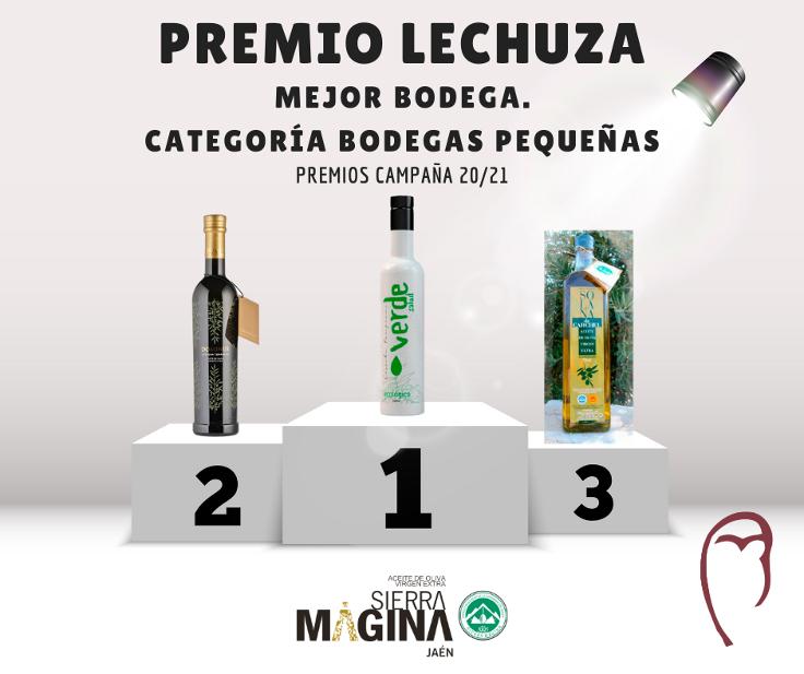 La DO Sierra Mágina completa su palmarés de premios de la campaña 2020/2021