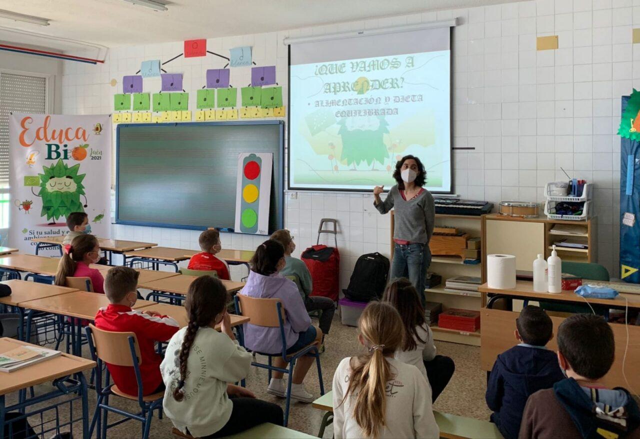 Más de 600 escolares de la provincia de Jaén participan en la II edición del programa escolar «EducaBio»