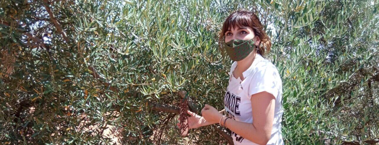 Rozalén visita el Ecoparque por la Solidaridad de los Pueblos en Carboneros