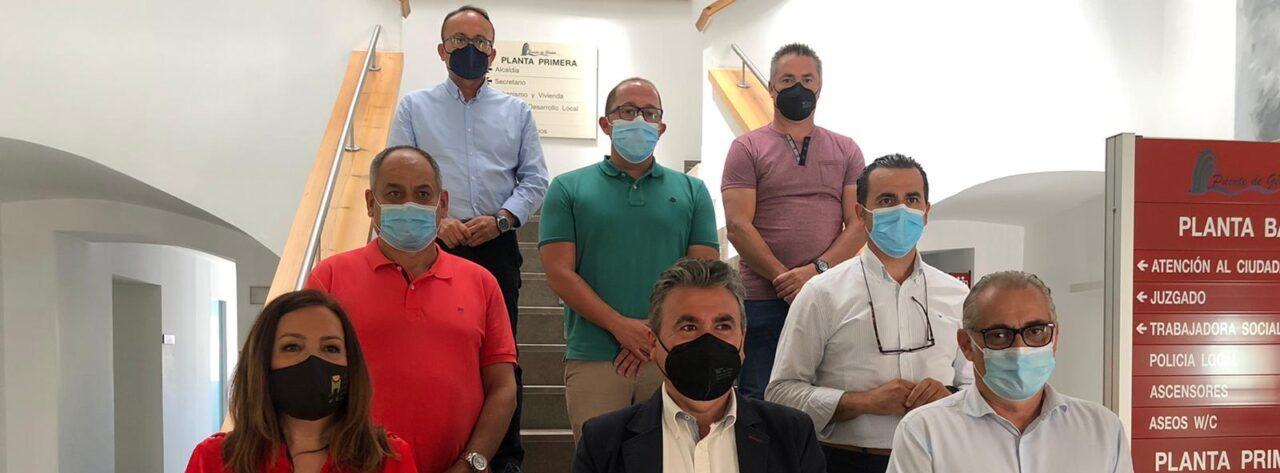 El presidente de la CHG informa a los alcaldes de la Sierra de Segura de los avances en el concurso de las concesiones de regadío de la presa de Siles