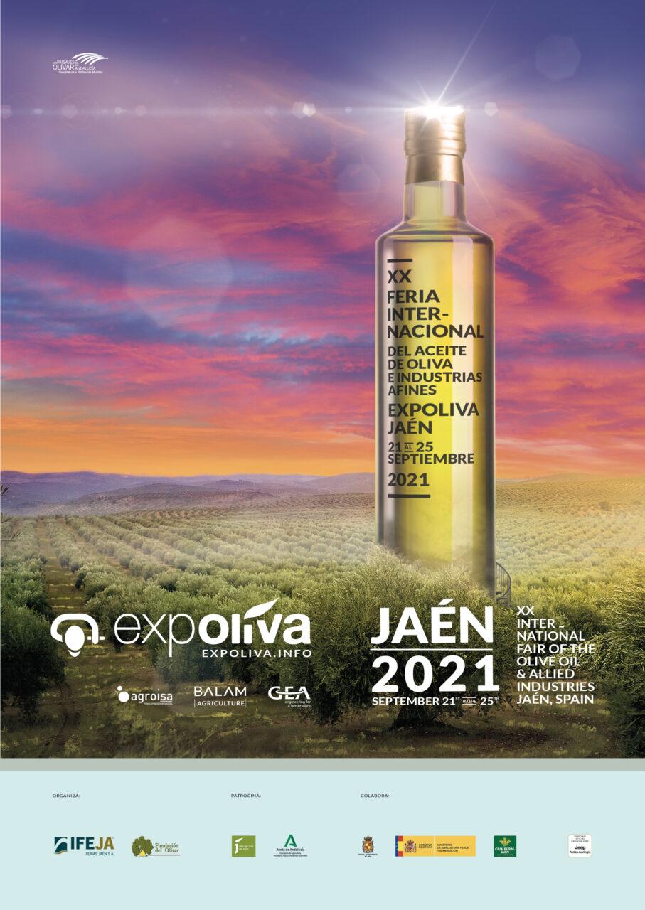 Recortan en un día la celebración de Expoliva 2021, que tendrá lugar del 22 al 25 de septiembre, de miércoles a sábado