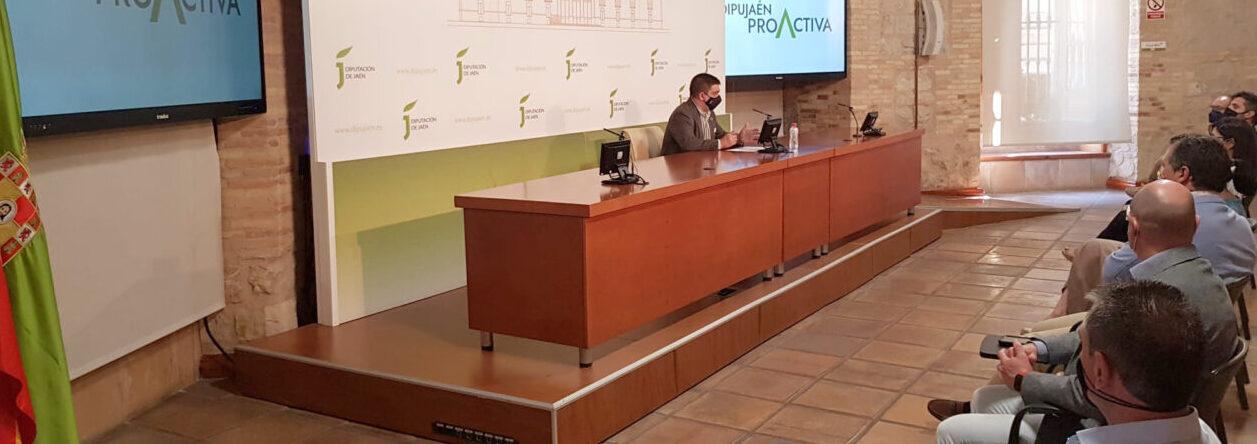Reyes presenta el Plan DipuJaén Proactiva, con 15 grandes proyectos para optar a los fondos europeos, con relevancia para el olivar, el sector agroalimentario y la economía circular