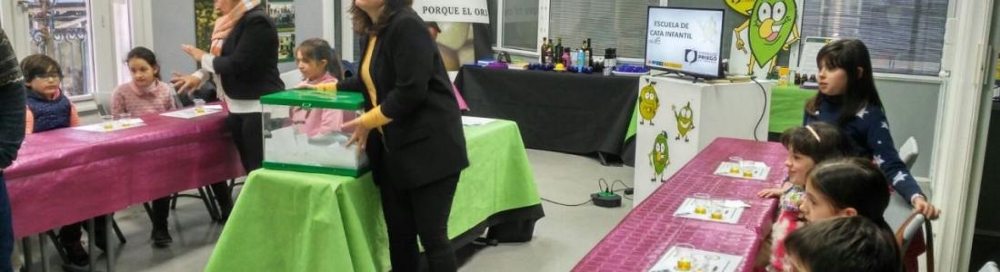 La DO Priego de Córdoba comienza una nueva edición de la Escuela de Cata Infantil