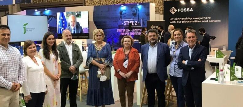 La Diputación de Jaén participa en Smart Agrifood Summit, evento referente en innovación del sector agroalimentario