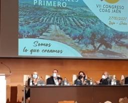 Juan Luis Ávila, reelegido por unanimidad secretario de la COAG en Jaén para un tercer mandato en el VII Congreso Provincial