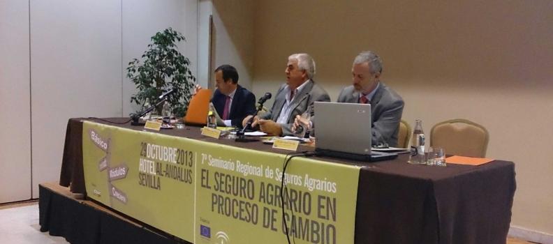 COAG-Andalucía plantea un seguro agrario básico, universal y con fuerte apoyo público