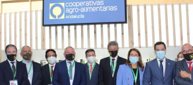Cooperativas Agro-alimentarias de Andalucía difunde en Expoliva la labor del modelo cooperativo para impulsar el avance del sector oleícola
