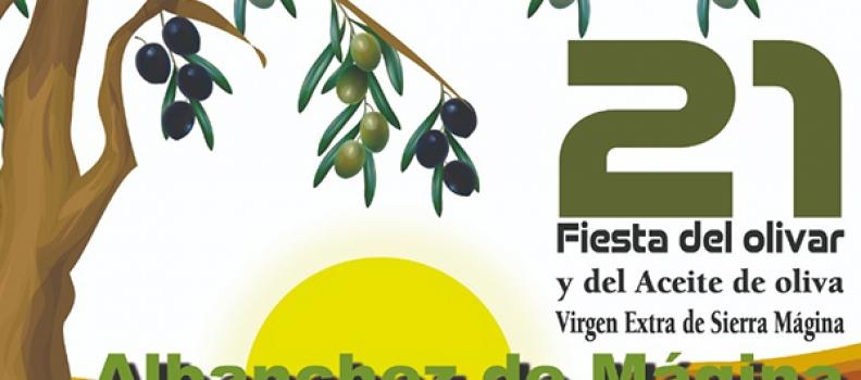 La Fiesta del Olivar y del Aceite de Oliva Virgen Extra de Sierra Mágina se celebrará del 10 al 18 de septiembre en Albanchez de Mágina