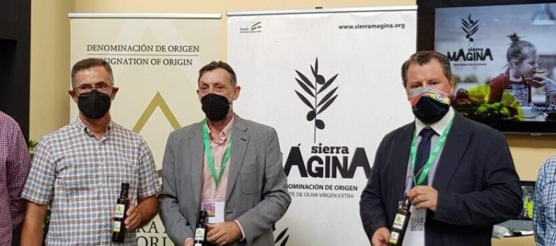 La Denominación de Origen Sierra Mágina presenta en Expoliva 2021 su nueva imagen corporativa