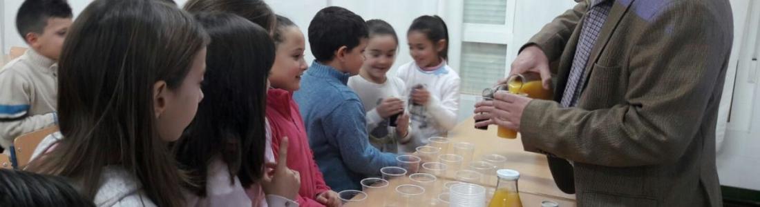 Diez centros educativos participaron en 2017 en el programa «Degusta Jaén en tu colegio»