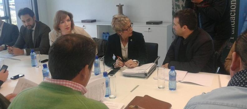 Elena Víboras admite que la producción de aceite de oliva podría ser inferior a la del aforo de la Junta