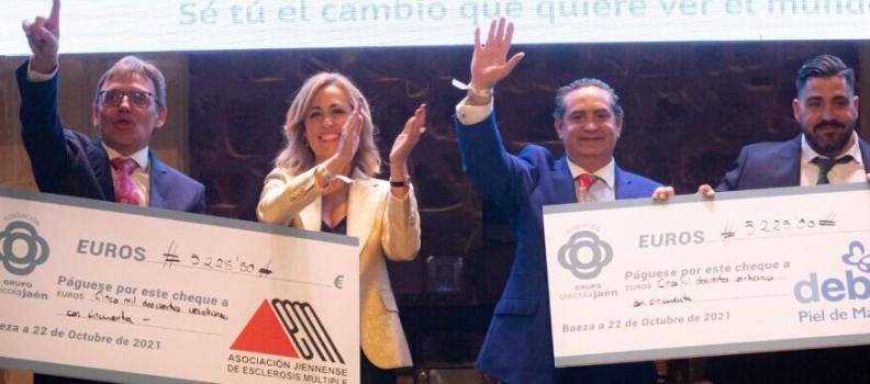 La Fundación Grupo Oleícola Jaén recauda en la segunda edición de su cena solidaria 10.451euros para donar a asociaciones
