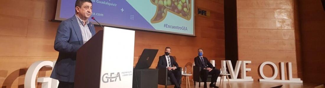 Reyes participa en la inauguración del XV Encuentro de Responsables y Maestros de Almazara de GEA-Iberia