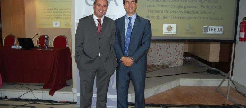 Mario Alonso Puig ofrece a los participantes en el Encuentro de Maestros de Almazara las claves para afrontar el futuro con optimismo