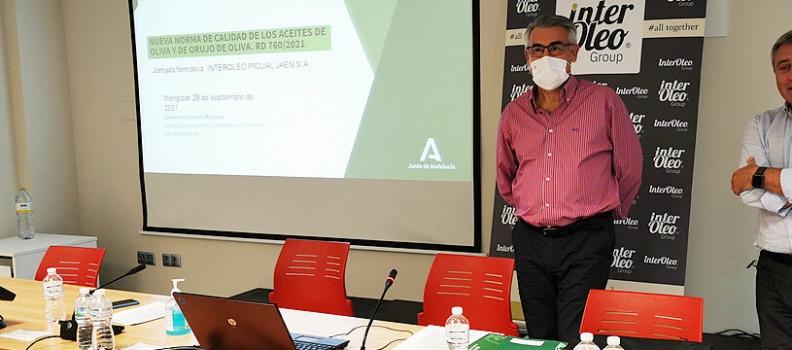 Grupo Interóleo destaca la apuesta por la trazabilidad del aceite de oliva que supone la norma de calidad que entra hoy en vigor