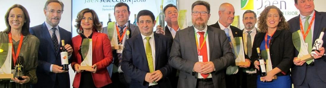 Entregado el distintivo Jaén Selección 2018 a los mejores aceites de esta campaña