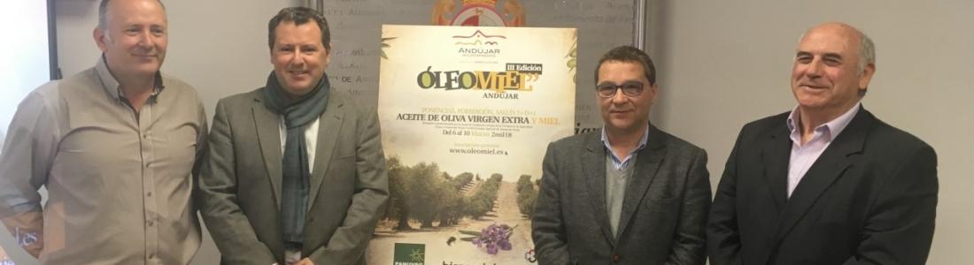 Presentada en Andújar la tercera edición de Oleomiel