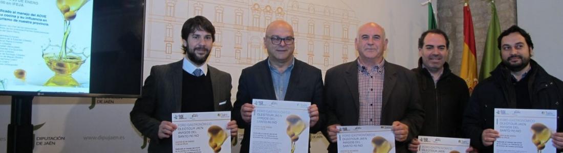 El I Foro Gastronómico OleotourJaén reunirá a doce chefs para debatir sobre el uso del AOVE en la cocina