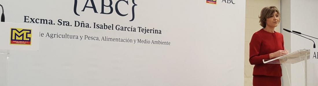 García Tejerina desgrana los ejes del Pacto Nacional por el Agua que se negocia