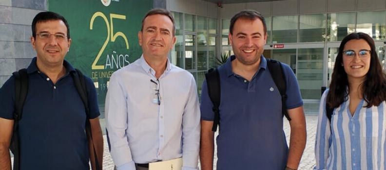 La UJA y el Instituto Politécnico de Braganza (Portugal) colaboran en la caracterización de nuevos alimentos funcionales basados en AOVEs