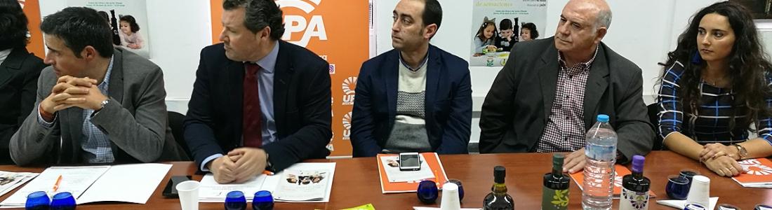 UPA-Jaén apuesta por la innovación, la calidad y la promoción del AOVE para abrir mercados y aumentar el consumo nacional