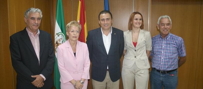 Primera reunión de trabajo de la UPA-Andalucía con la consejera de Agricultura