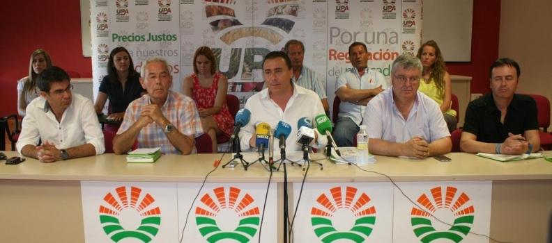 La UPA en Andalucía dice que la reforma de la PAC no ha dado respuesta a las cuestiones de mercado