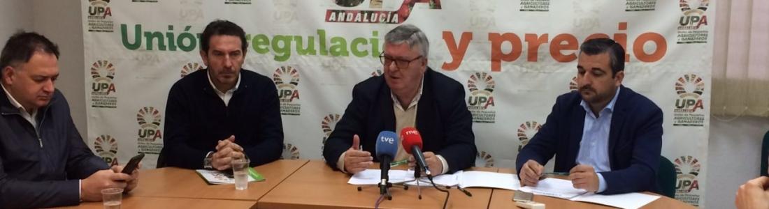 UPA-Andalucía afirma que la sequía, los precios y la amenaza de la xylella han marcado el año agrario