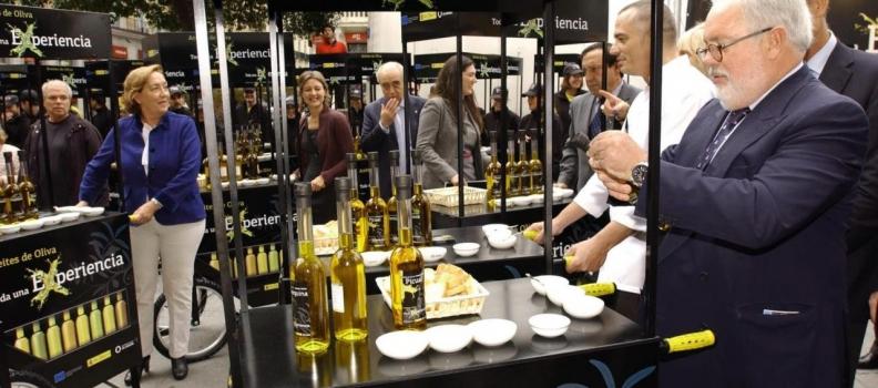 La campaña de promoción de los aceites de oliva llega a la televisión
