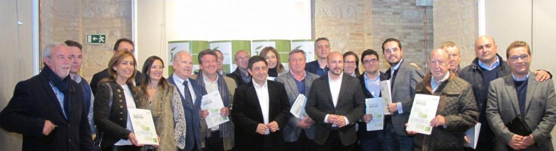 Catorce empresas oleícolas de Jaén contratarán cerca de 30 profesionales a través de las ayudas de la Diputación