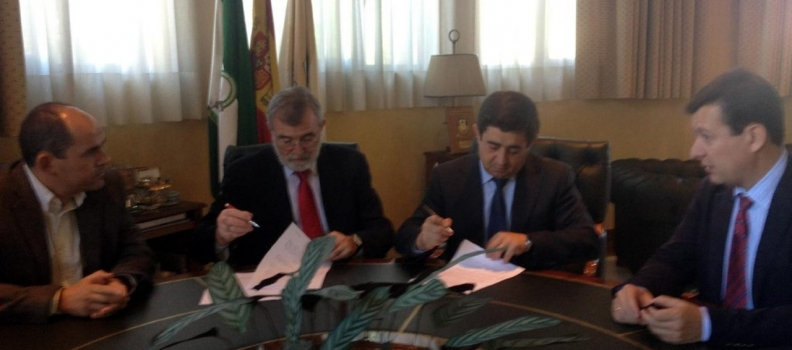 La Diputación de Jaén firma con el Campus de Excelencia Agroalimentaria de Córdoba varios convenios para fomentar la innovación y la investigación