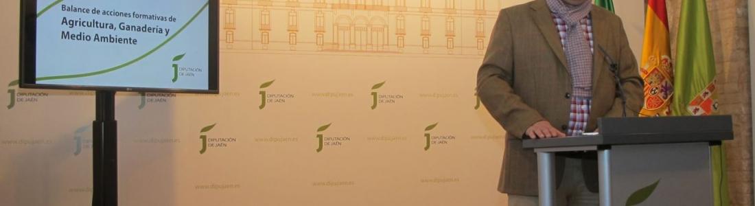 Más de 500 personas participan en los cursos de formación realizados por la Diputación de Jaén