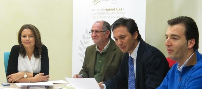 Oleícola Álvarez, Grupo Alvic y Coosur, finalistas por Jaén en los Premios Alas a la internacionalización empresarial