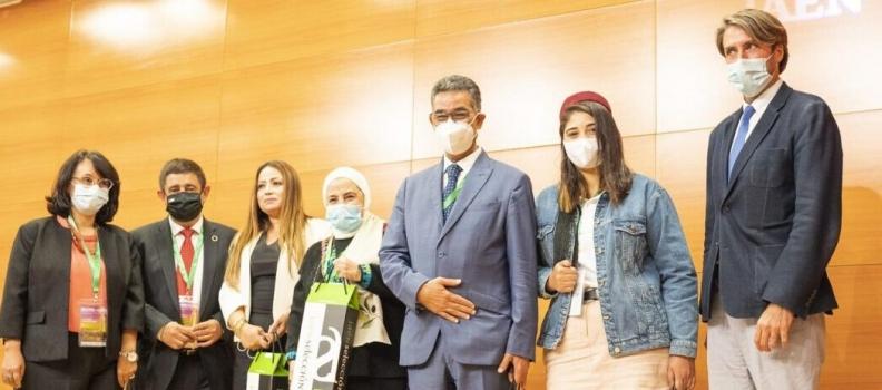 El presidente de la Diputación recibe a la Red de Mujeres Árabes de Aceite de Oliva