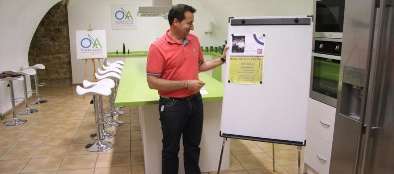 Dani García inaugurará el aula de cocina del Centro de Interpretación Aceite y Olivar de La Loma