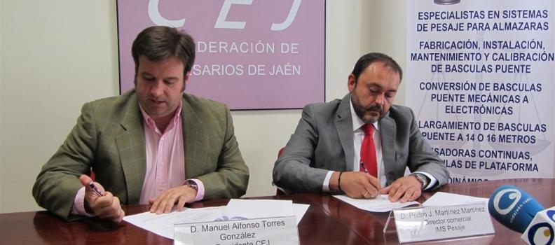 La compañía IMS Pesaje se integra en la Confederación de Empresarios de Jaén