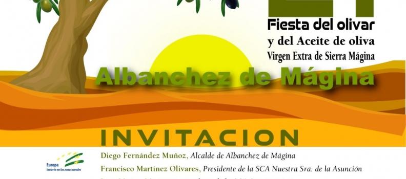 La Denominación de Origen Sierra Mágina presentará su nueva imagen en la XXI Fiesta del Olivar