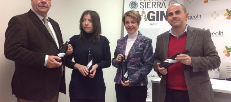 La DO Sierra Mágina promociona en Geolit los envases de aceite de oliva irrellenables